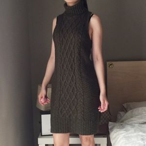 American Eagle Outfitters Wool Blend Sweater Dress